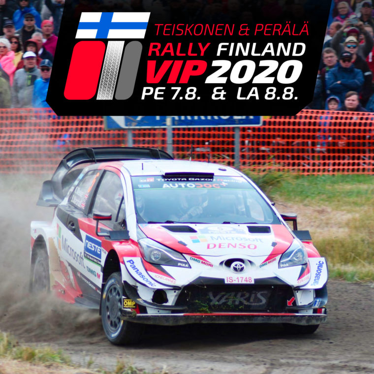 Jyväskylä MM-ralli VIP 7.-8.8.2020